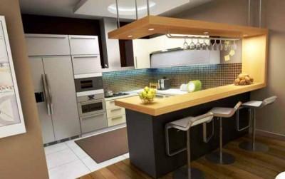 Desain Dapur Kecil Dengan Minibar & Desain Dapur Kecil Minimalis Nan Cantik Di Rumah Idaman Anda ...