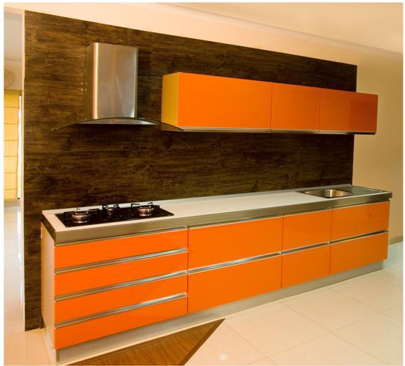 desain dapur sederhana warna cat desain gambar foto