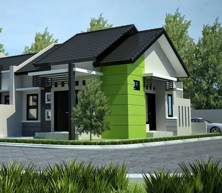 disain rumah sederhana type 45 yang cantik