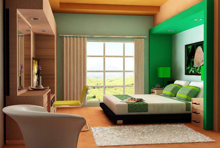 design interior kamar tidur terbaik