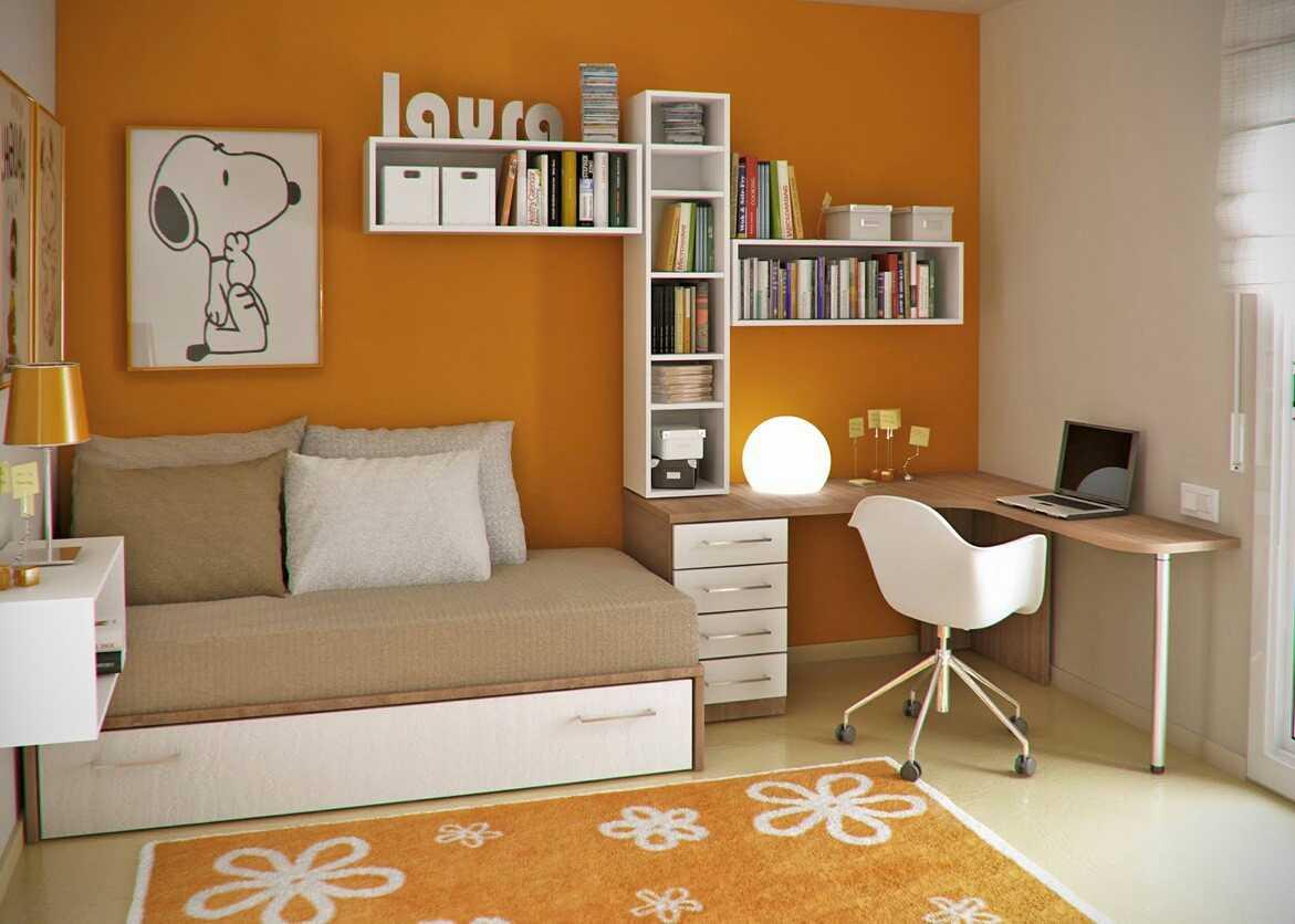 design interior rumah minimalis ruang kerja desain