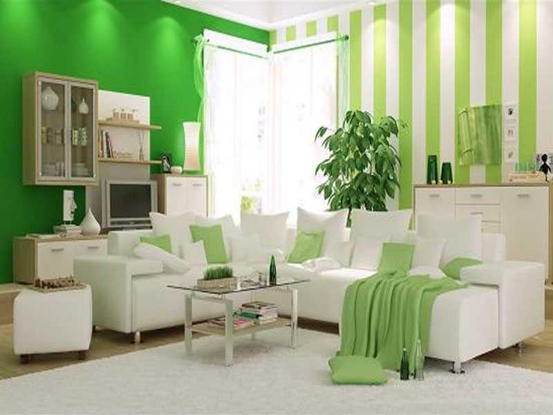 design ruang tamu kecil yang eksotis