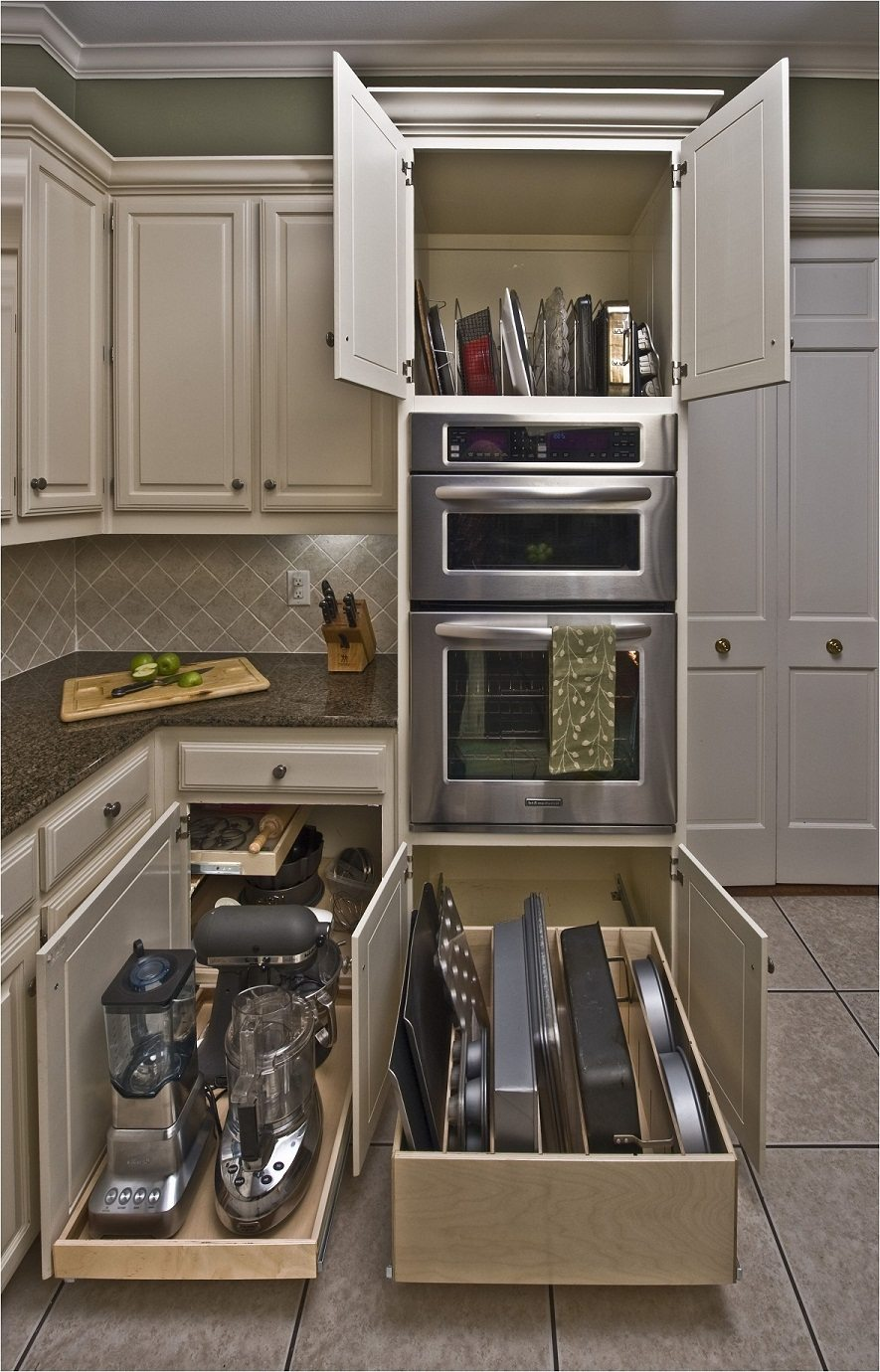 dapur cantik minimalis dengan desain furniture fungsional