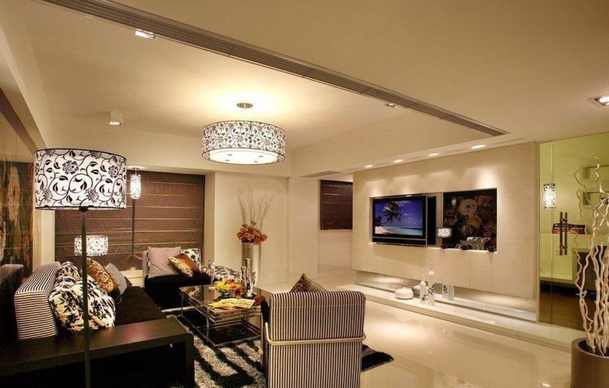 memilih lampu hias untuk model ruang tamu minimalis