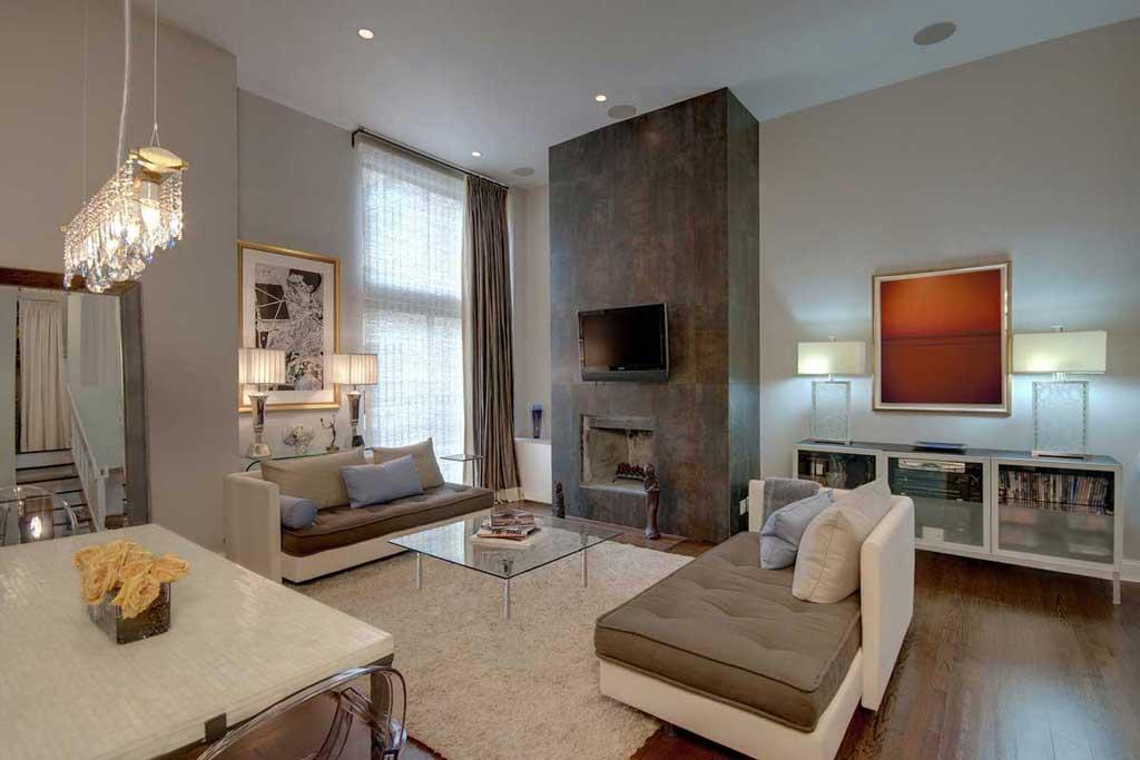 model lampu minimalis ruang tamu desain rumah