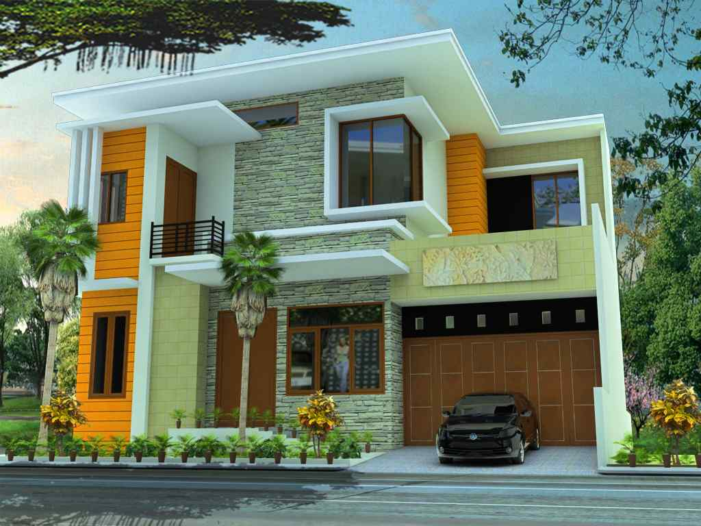 menanggulangi kesalahan pemilihan warna rumah minimalis