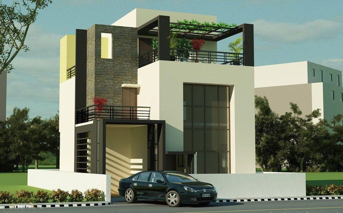 pertimbangan dalam menentukan cat eksterior rumah