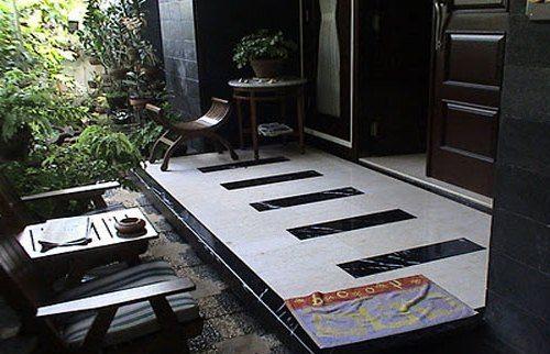 Model kursi teras minimalis modern terbaru masa kini - Rumahsederhana2016 Desain Keramik Teras Rumah Images