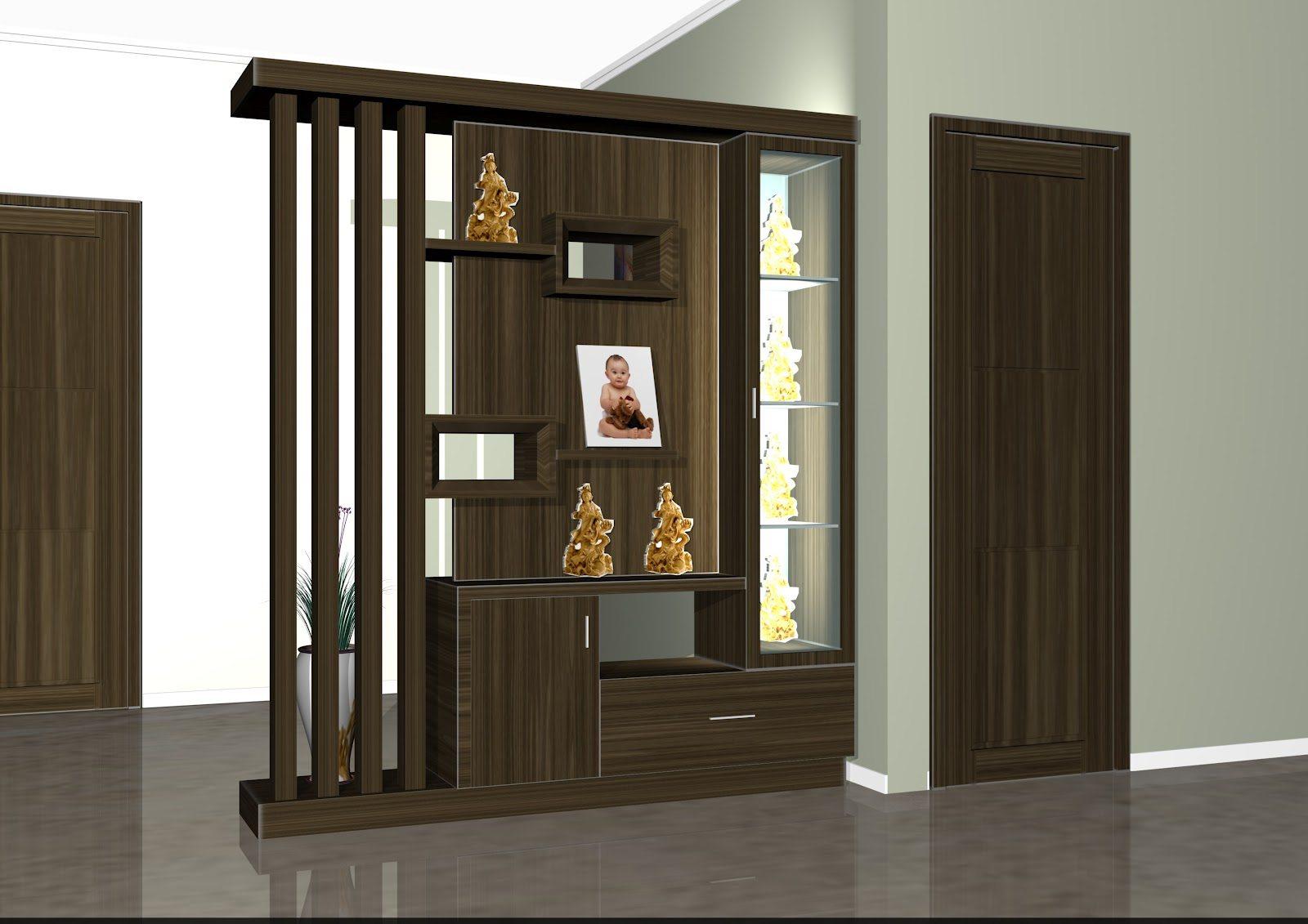Desain Pembatas Ruang Tamu Dan Ruang Keluarga  Gambar Desain