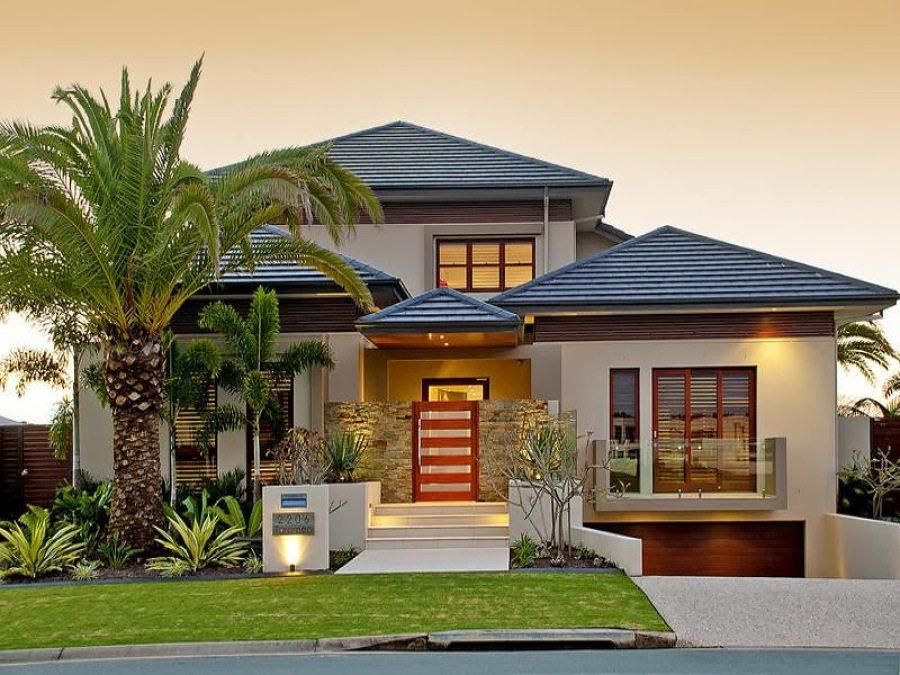 warna cat eksterior rumah minimalis dengan sentuhan zen