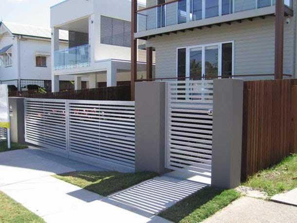 contoh pagar minimalis dalam konsep unik