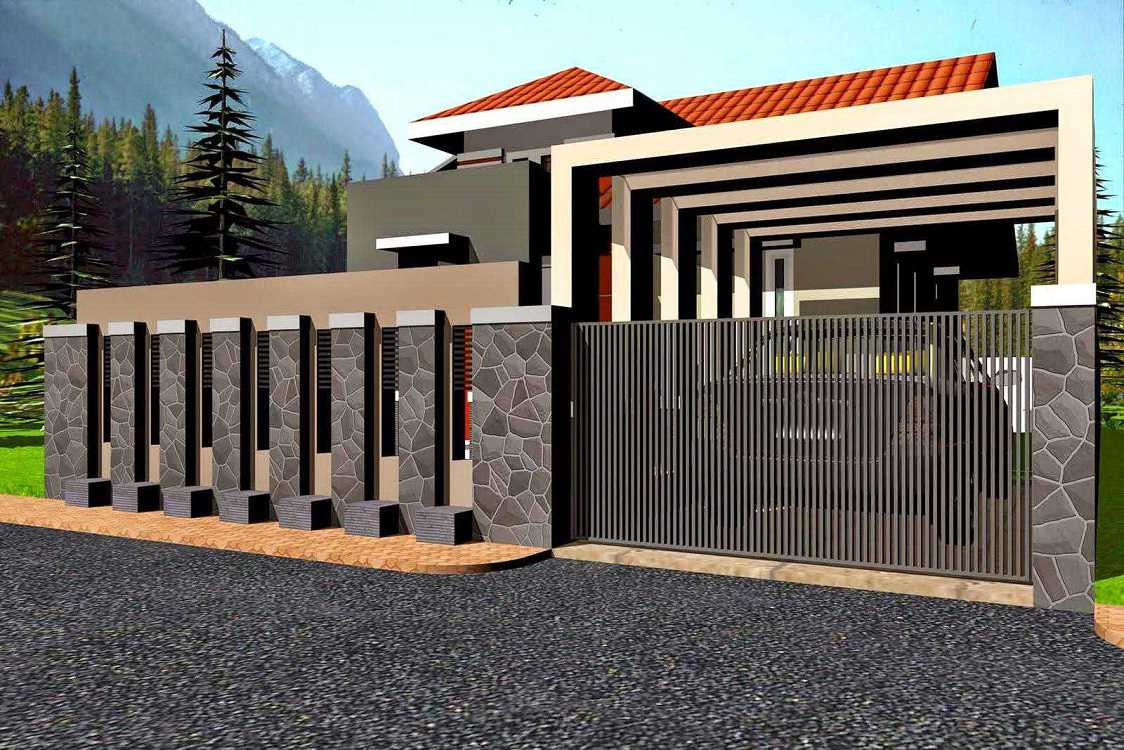 tips dalam memilih desain pagar tembok rumah minimalis