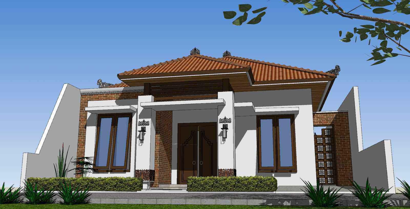 & Desain Rumah Klasik Minimalis Type 45 - 2017 Age