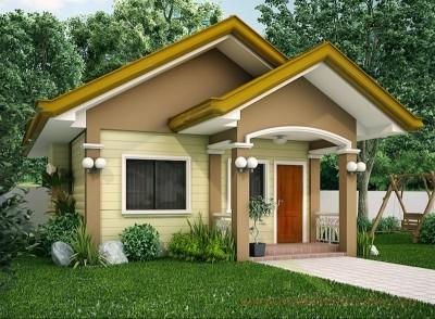 disain rumah sederhana type 45 yang cantik | desain