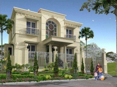 foto rumah mewah modern - desain, gambar, foto tipe rumah