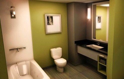 model kamar mandi minimalis modern namun sederhana