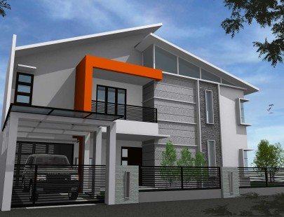 Arsitektur Rumah Minimalis 2 Lantai