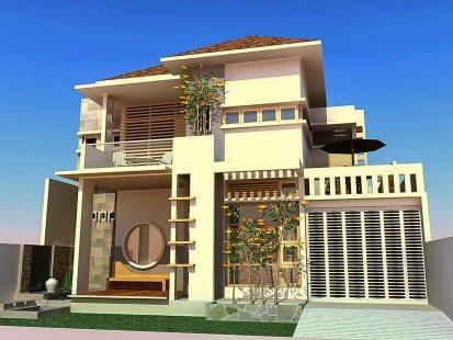 Arsitektur Rumah Minimalis Modern