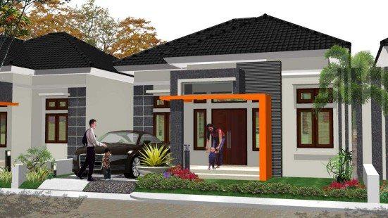 Arsitektur Rumah Minimalis Tipe 45