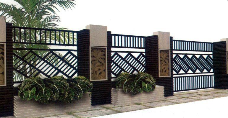 Contoh Pagar Rumah Minimalis Sederhana Desain Gambar Foto Tipe Rumah Minimalis Desain Gambar Foto Tipe Rumah Minimalis