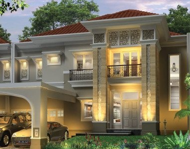 desain rumah mewah klasik bergaya mediterania | desain