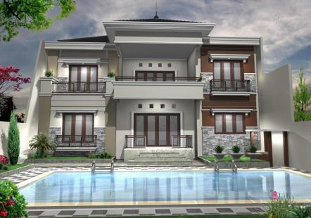 model rumah mewah masa kini | desain, gambar, foto tipe