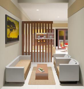 desain ruang tamu sederhana minimalis nan cantik   desain