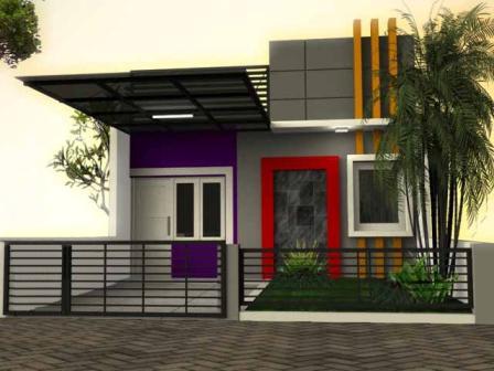 Model Rumah Minimalis Atap Datar