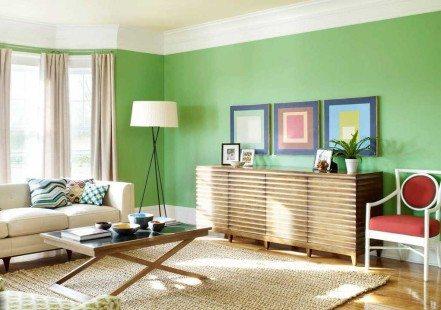 Warna Cat Untuk Ruang Keluarga Minimalis