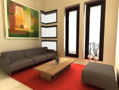bentuk rumah sederhana yang nyaman dan artistik | desain