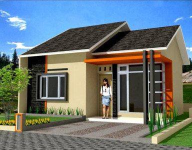 bentuk rumah sederhana yang nyaman dan artistik   desain