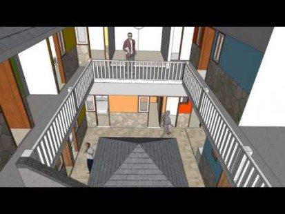 Desain Rumah Kost Di Lahan Sempit