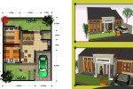 Aplikasi Desain Rumah Type 45