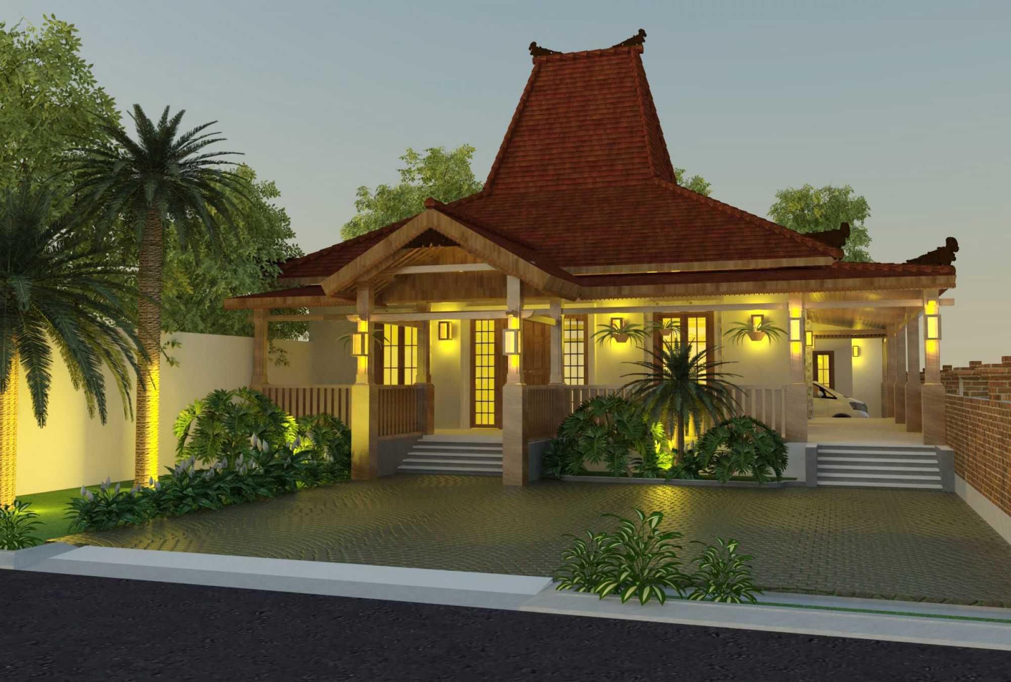 Rumah Joglo Minimalis Untuk Hunian Modern | Desain, Gambar