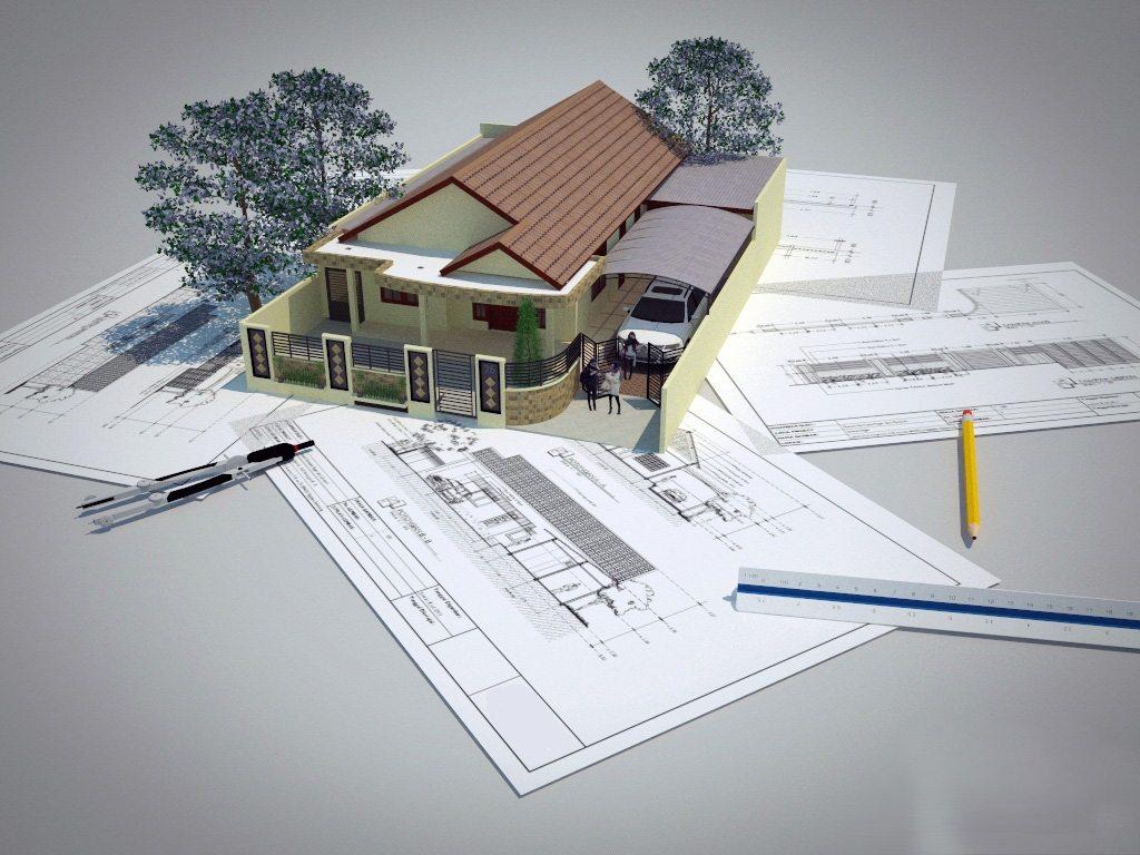 Sketsa Rumah RAB Rumah