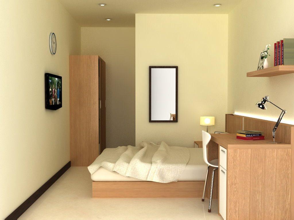 Dekorasi Kamar Kost Dengan Furniture Multifungsi Desain