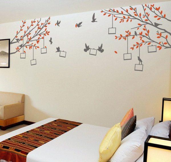 hiasan dinding kamar tidur wallsticker - desain, gambar, foto tipe