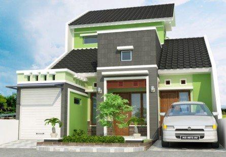 model rumah minimalis sederhana 2 lantai - desain, gambar