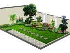 Model Taman Minimalis Desain