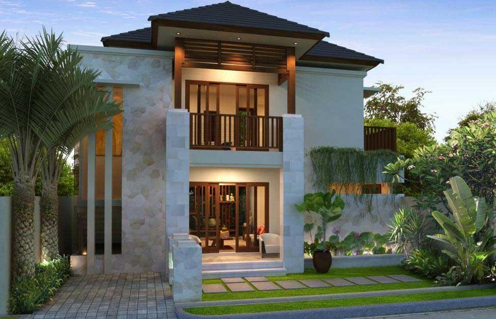 Rumah Minimalis Mewah Modern Terbaru Desain Gambar Foto Tipe