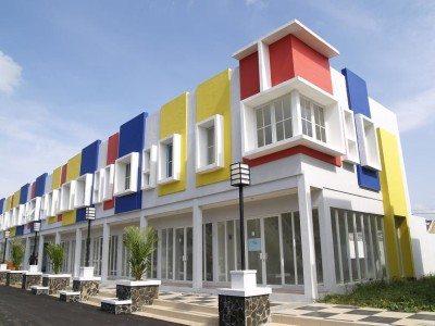 ruko minimalis 2 lantai terbaru - desain, gambar, foto