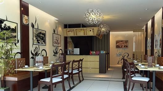 Ruko Minimalis Cafe  Kecil  Desain  Gambar Foto Tipe