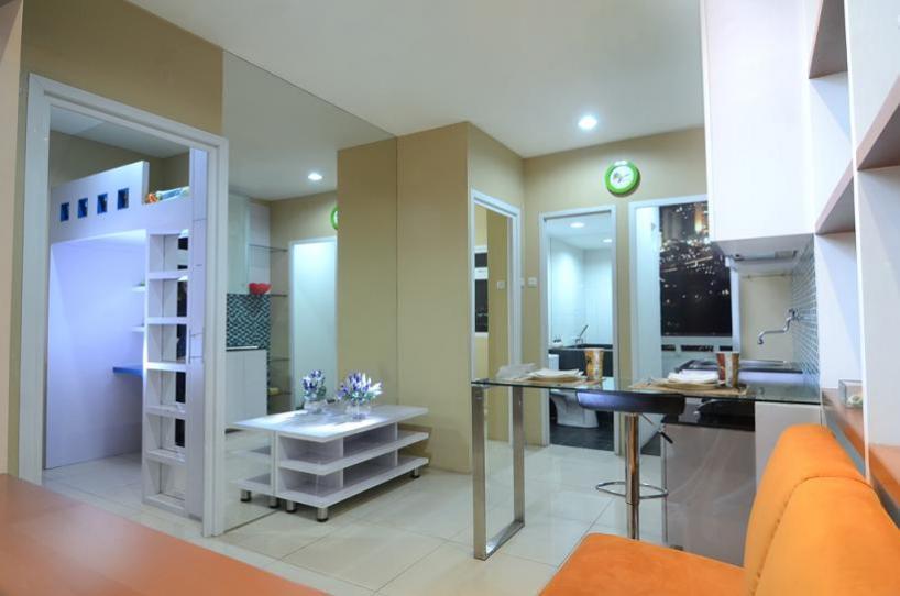 Tata Interior Apartemen Green Pramuka Type 33 | Desain