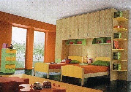 permainan dekorasi kamar tidur anak - desain, gambar, foto