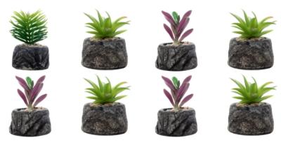 Dekorasi Pot Bunga Tanaman Artifisial