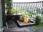 Taman Rumah Minimalis Modern Balkon Tingkat