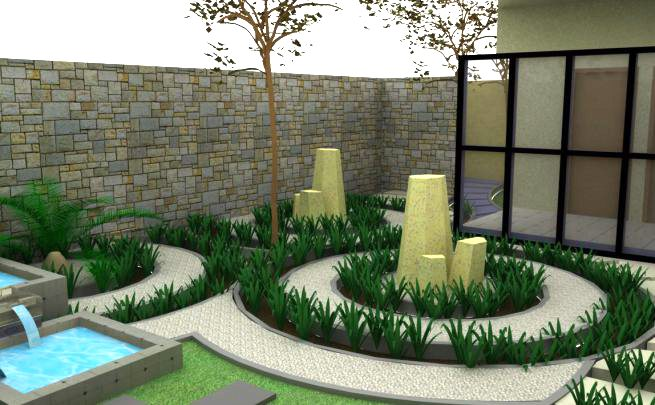 Gaya Zen Pilihan Untuk Taman Rumah Minimalis Modern Desain Gambar