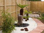 Taman Rumah Minimalis Modern Oriental Jepang
