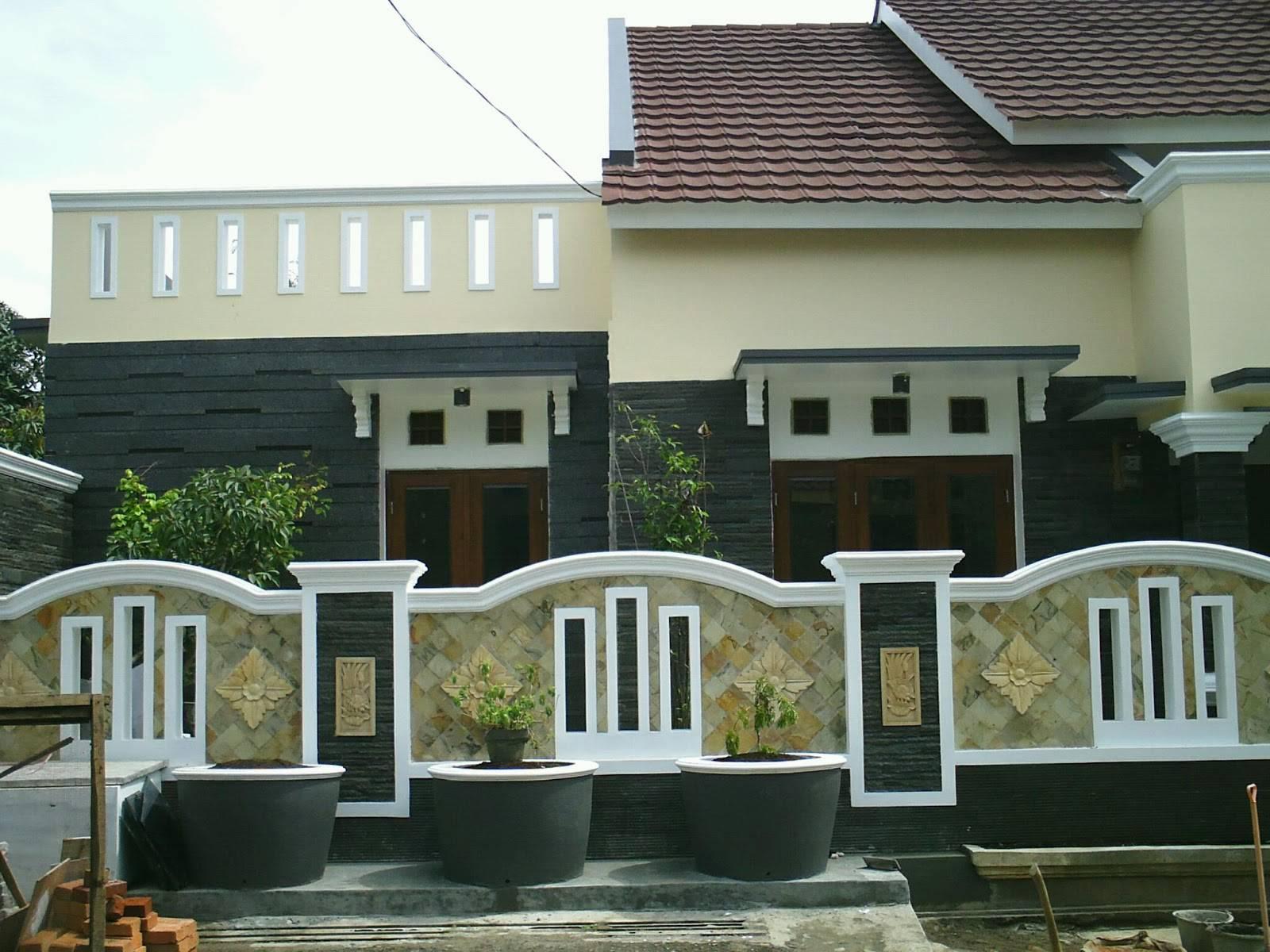 Pagar Rumah Minimalis Dari Hebel - Rumah Joglo Limasan Work