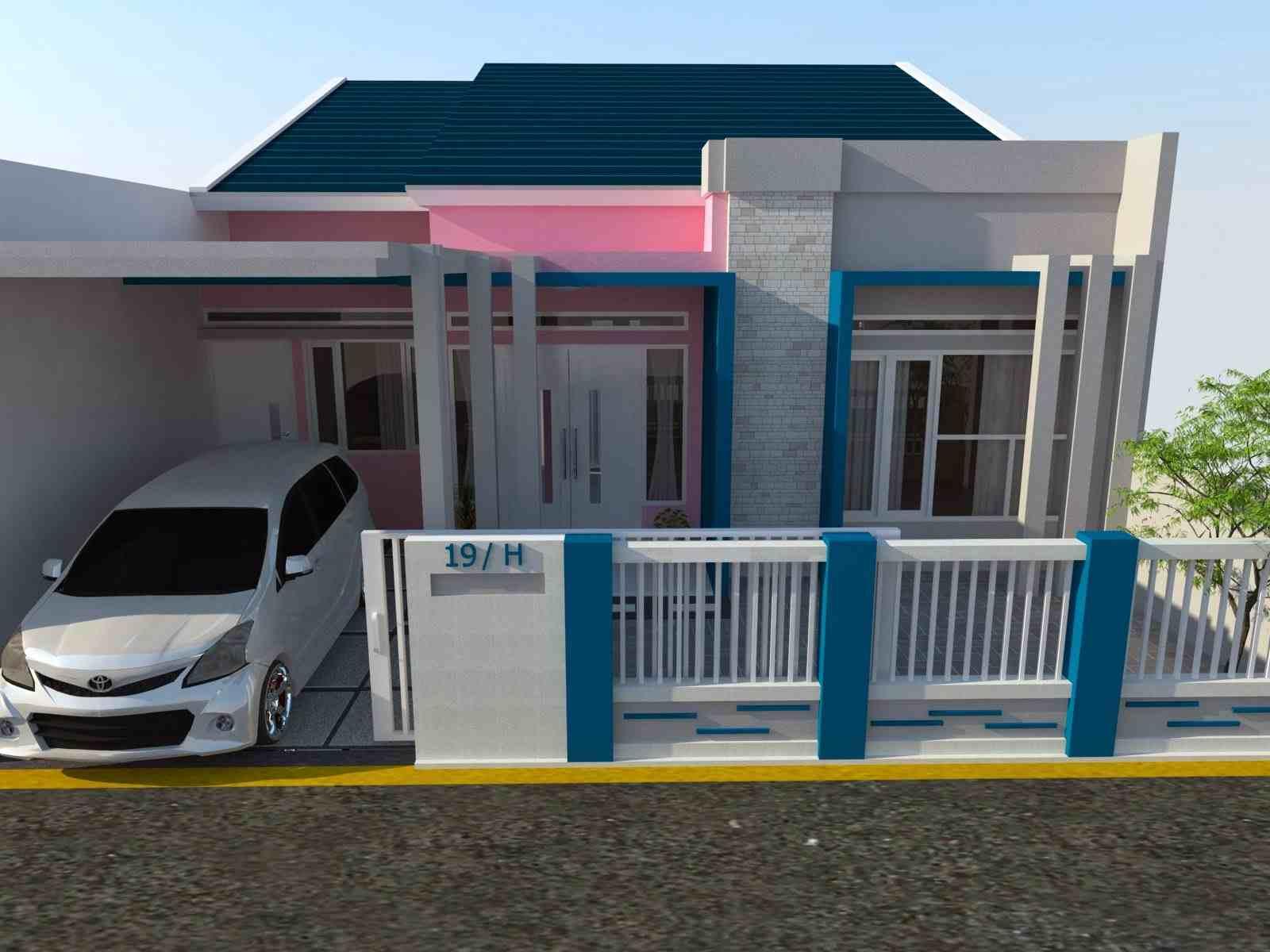 Sự lựa chọn màu sơn hàng rào tốt nhất cho ngôi nhà có khu vườn nhiệt đới